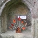 Autumn letter holder