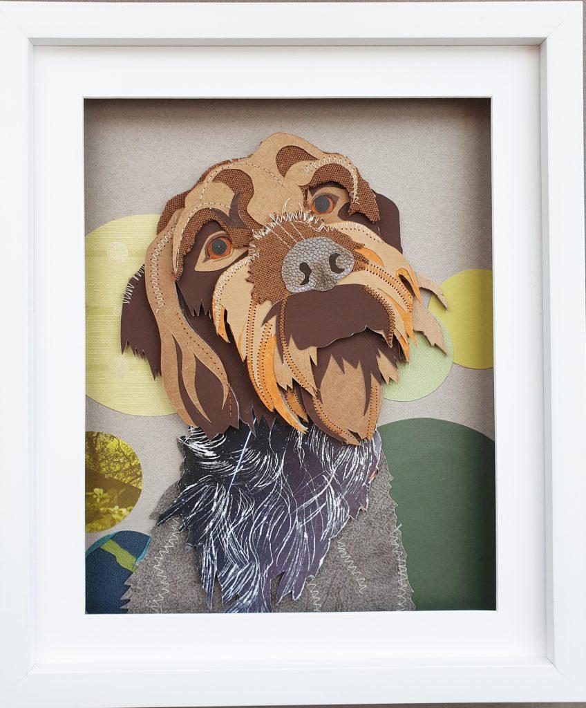 Pet portrait, Dog